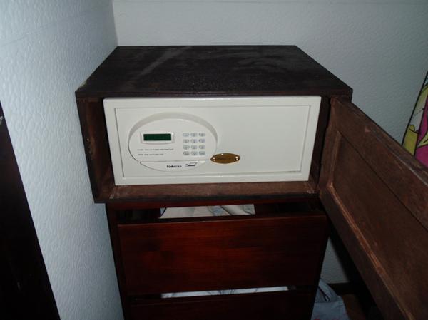10/27 房間的電子保險箱