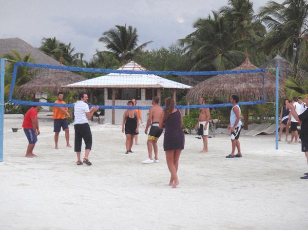 10/27 傍晚有沙灘排球
