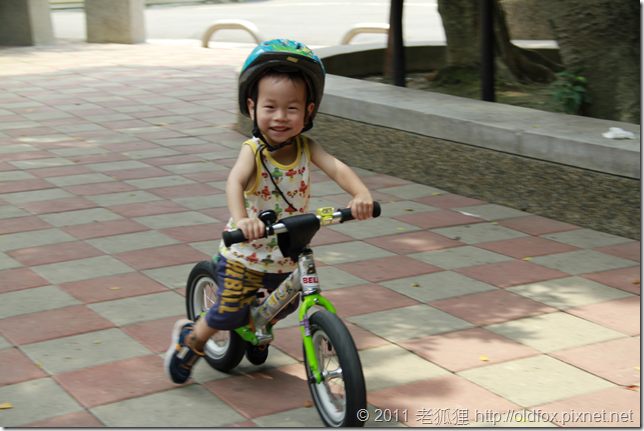 小雍騎push bike