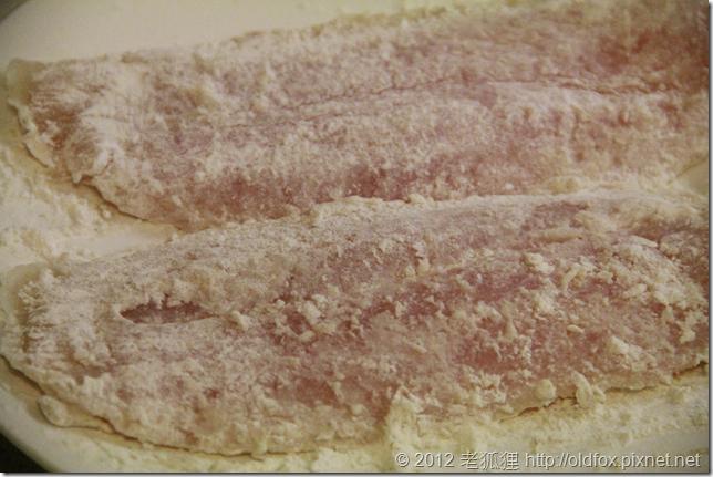魴魚片裹粉