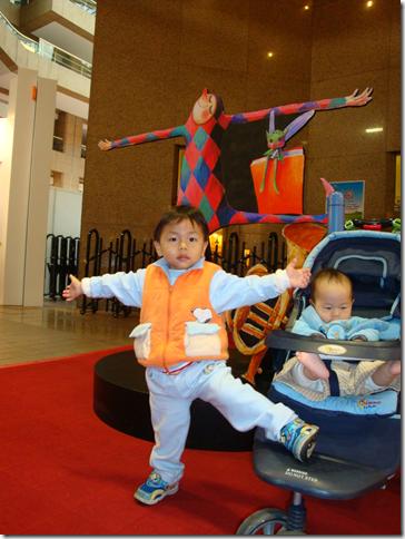 小罡與小雍在2010台北國際書展
