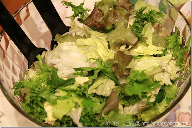 綜合生菜沙拉