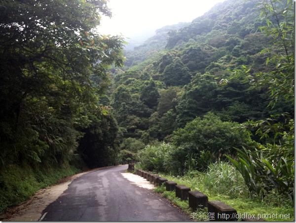 往玉桂嶺的小路