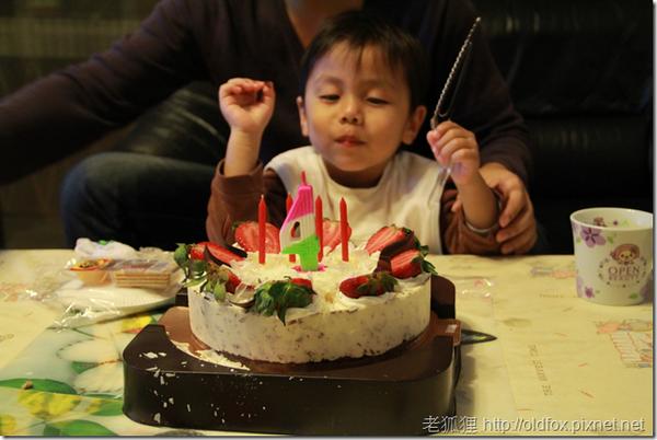 小罡四歲生日