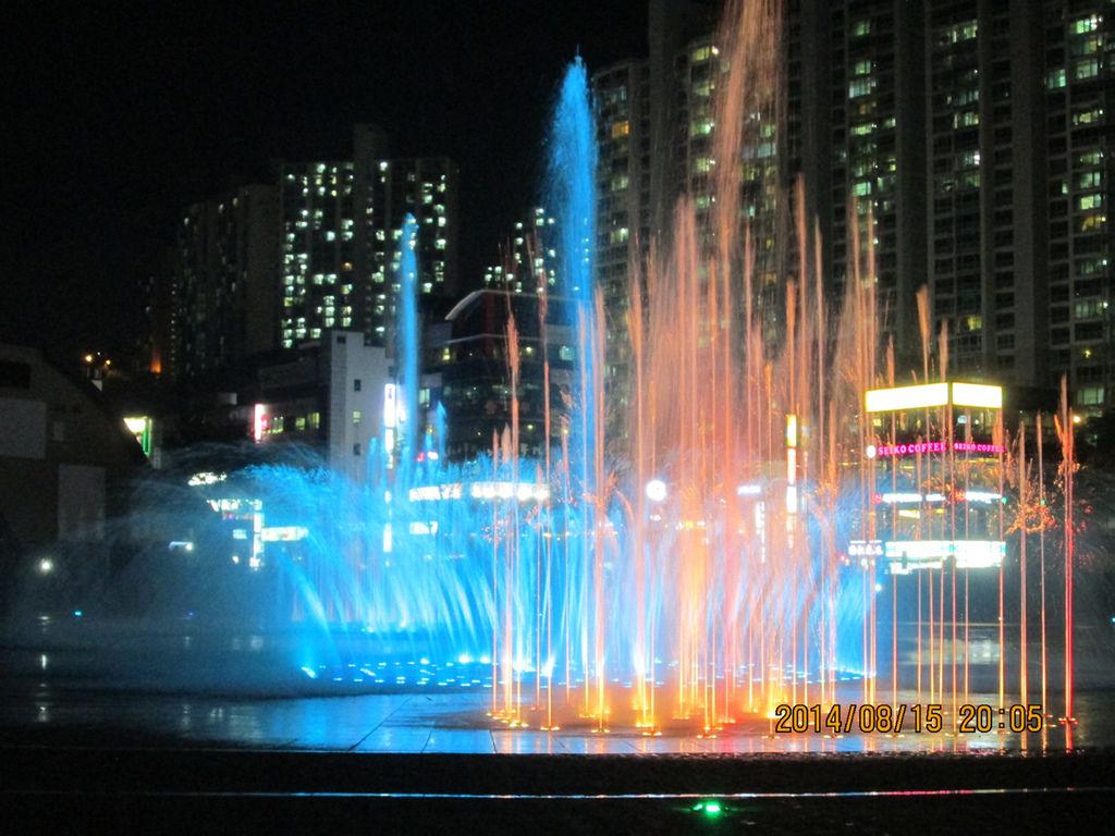 多大浦音樂噴泉