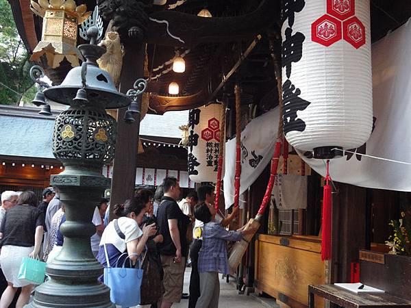 櫛田神社排隊祈願