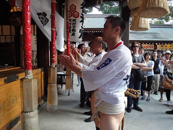 山笠後回櫛田神社