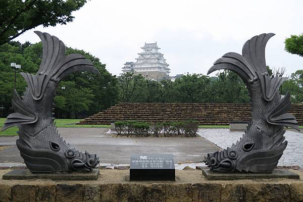 城見台公園鯱瓦%26;姫路城