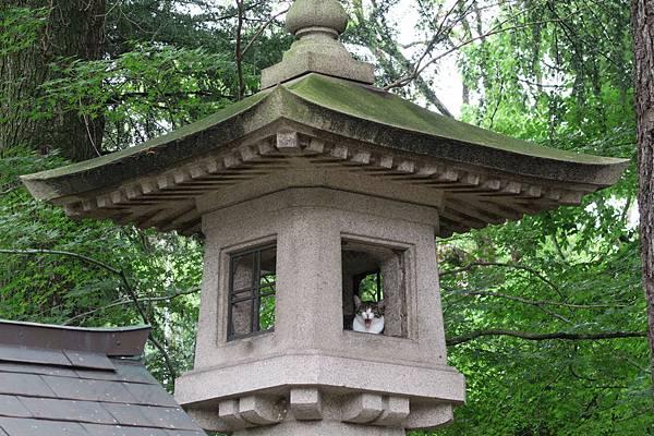 護國神社石燈籠