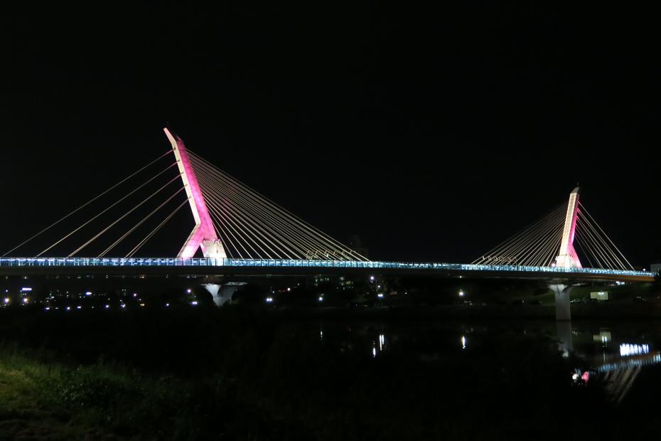 迎日橋夜景
