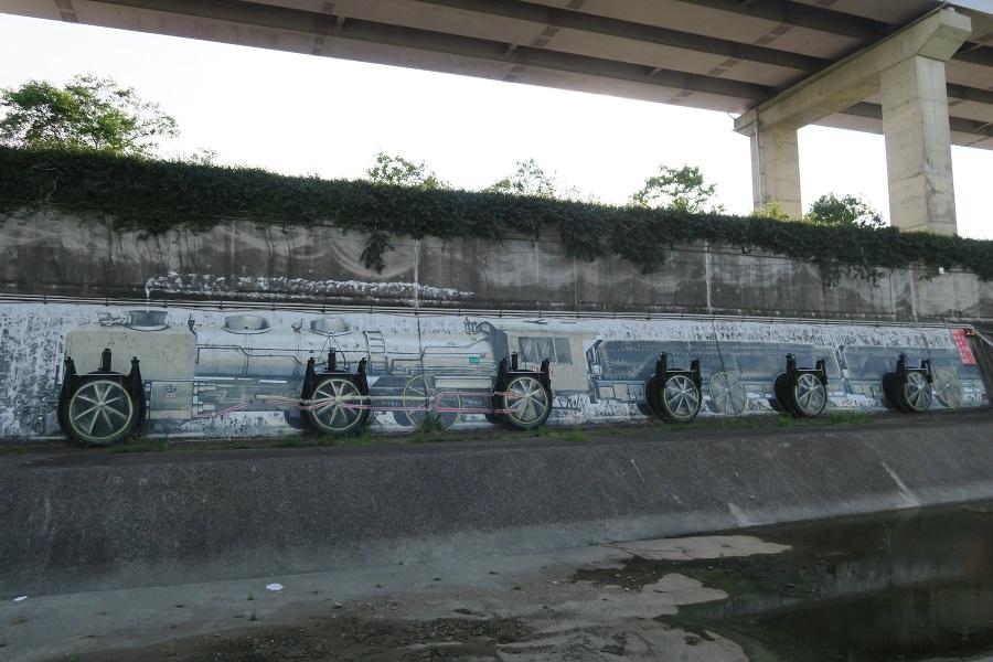 水門排水口