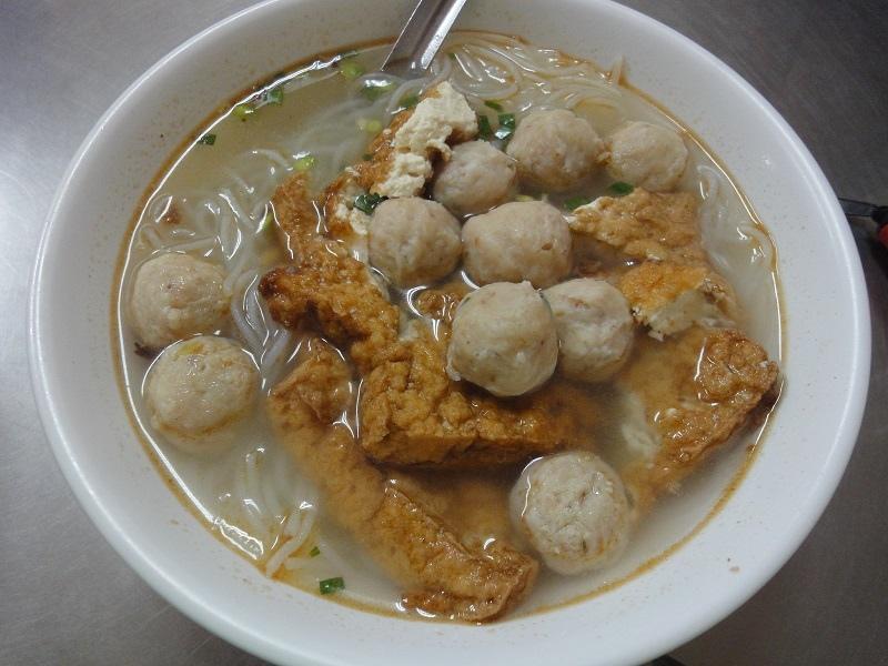 陳茂庚魚丸米粉75元
