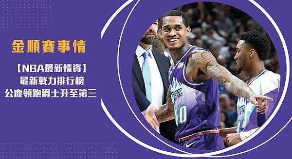 【NBA】最新戰力排行榜 公鹿領跑爵士升至第三