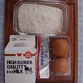 比利時薄餅 材料