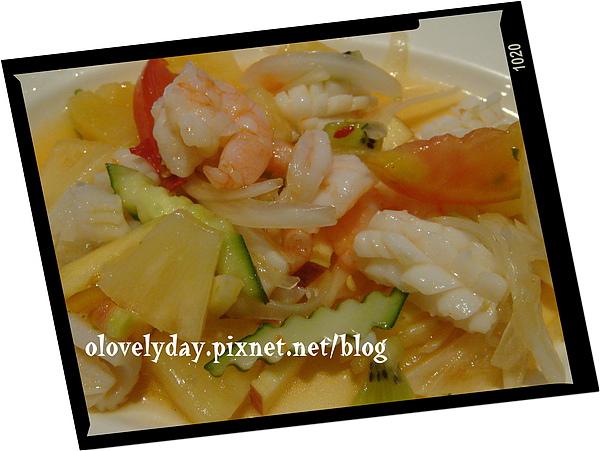 南城海鮮水果沙拉
