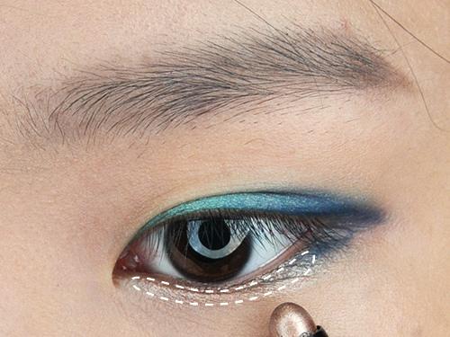starsuki 一筆勾引雙效眼彩筆 03迷眸銅+濃情黑