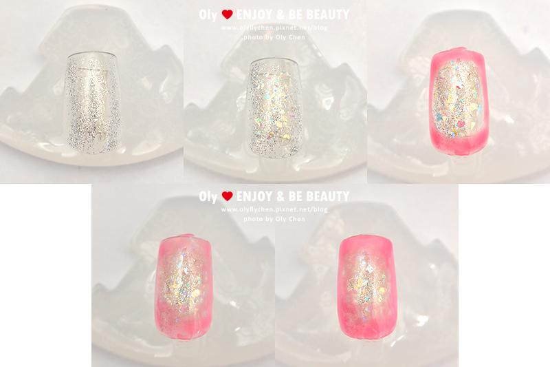 ORLY果凍光撩膠,腮紅指彩、暈染指彩