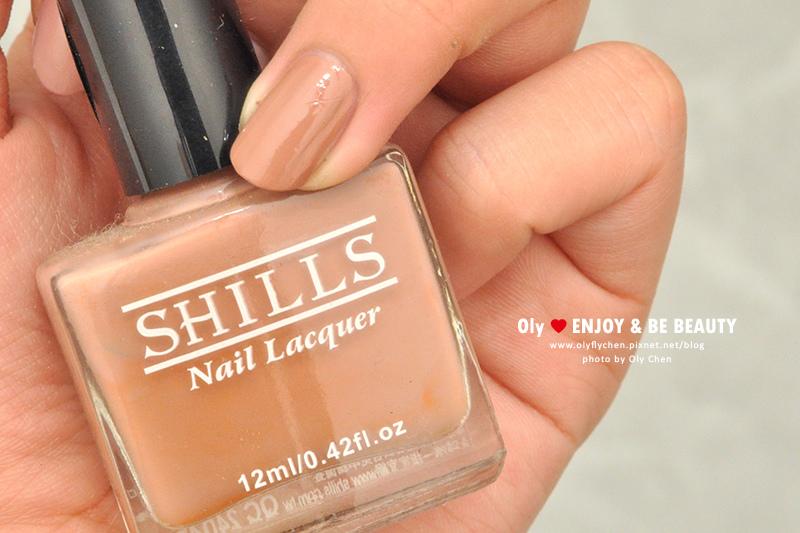 裸色指甲油推薦/小評比 SHILLS #WF01