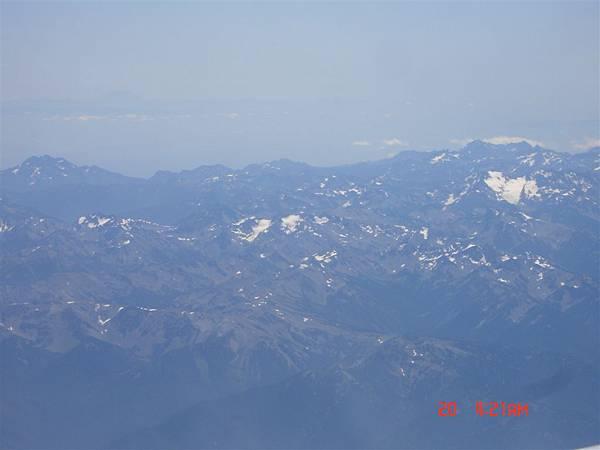 西雅圖壯麗的山脈