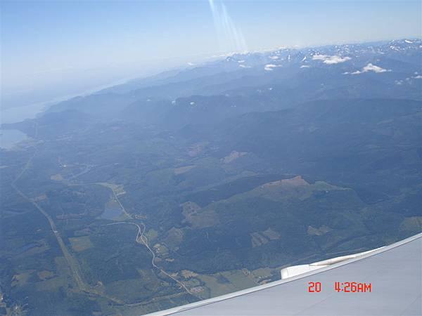 大家去用google earth可以看到更清楚漂亮的西雅圖俯視景唷~