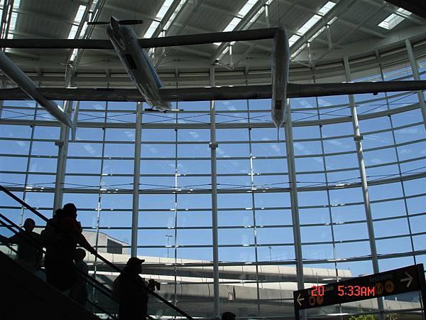 西雅圖機場一隅