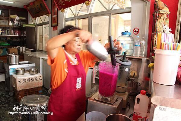 滿州美食火龍果汁