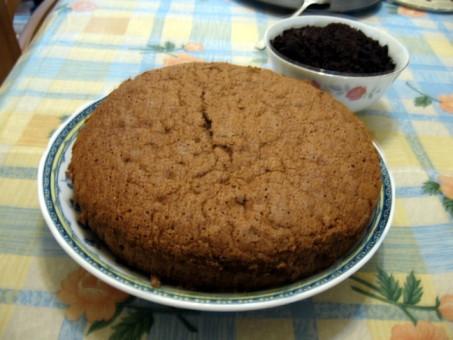 維也納式的巧克力蛋糕