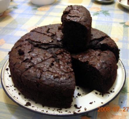 優格巧克力蛋糕