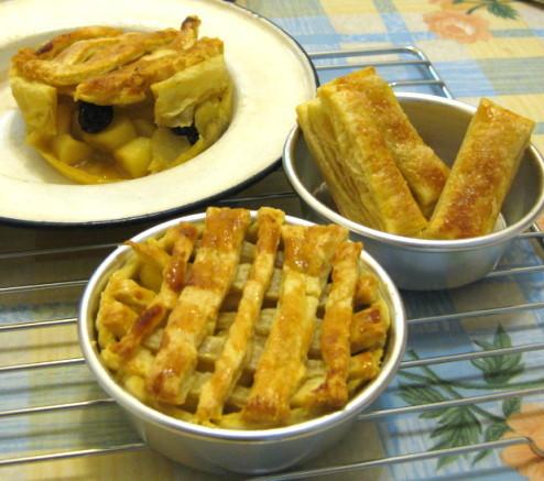 蘋果派&千層酥(乳酪餅製)