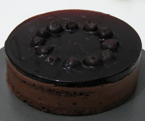 黑櫻桃可可慕斯蛋糕