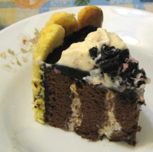 巧克力蛋糕捲夏洛特