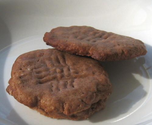 巧克力醬餅乾