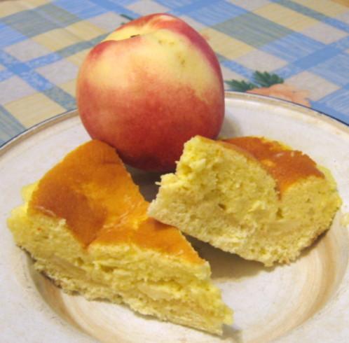 白桃乳酪蛋糕