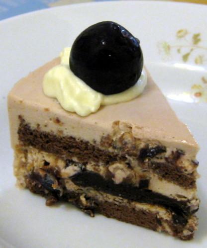黑森林慕斯蛋糕切片