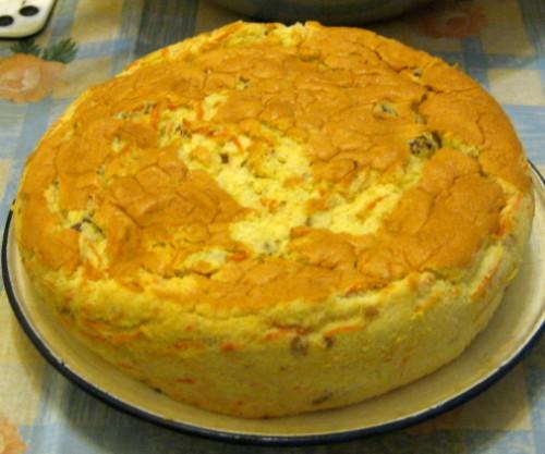 胡蘿蔔戚風蛋糕
