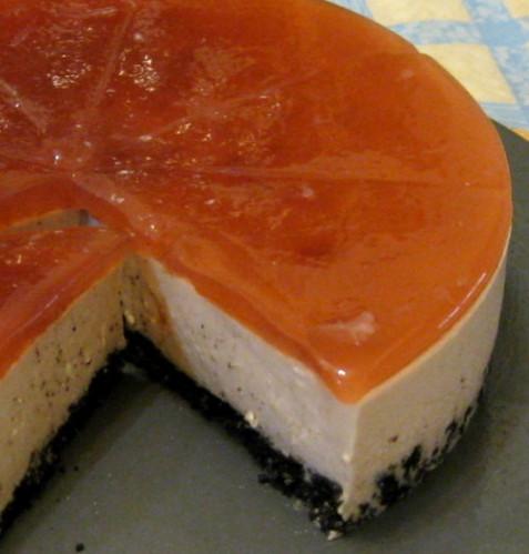 覆盆子乳酪慕斯蛋糕