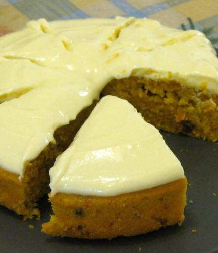 胡蘿蔔蛋糕+檸檬乳酪霜