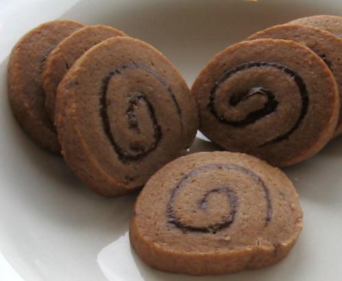 巧克力螺旋餅乾