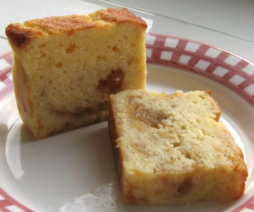 杏香蘋果大理石磅蛋糕