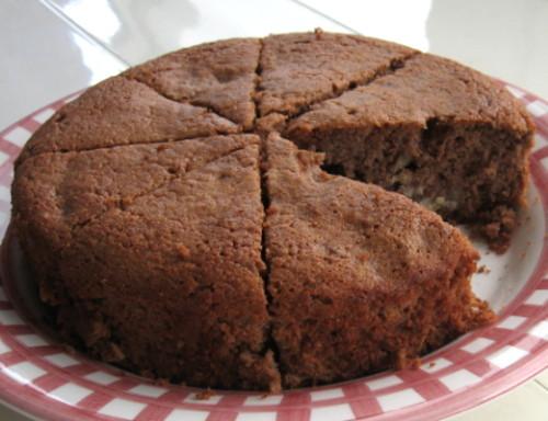 栗子蛋糕,略帶巧克力風味