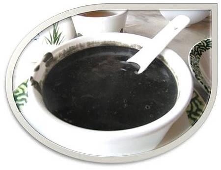 黑芝麻核桃甜湯