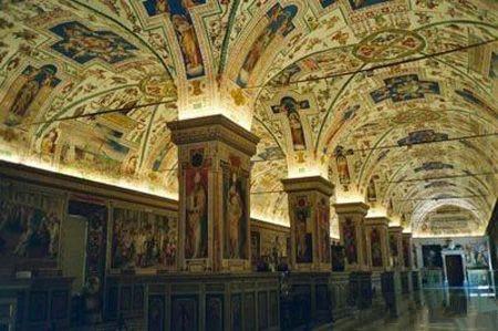 第九名:梵蒂冈机密档案室