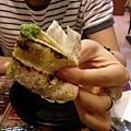 甩餅包烤雞肉鐵盤+香菜優格醬