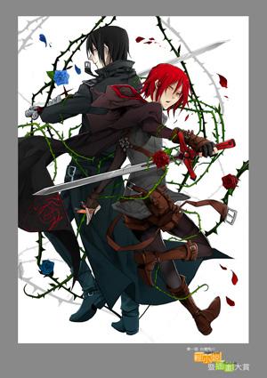 銅賞:「薔薇的瑪莉亞」Izumi.JPG