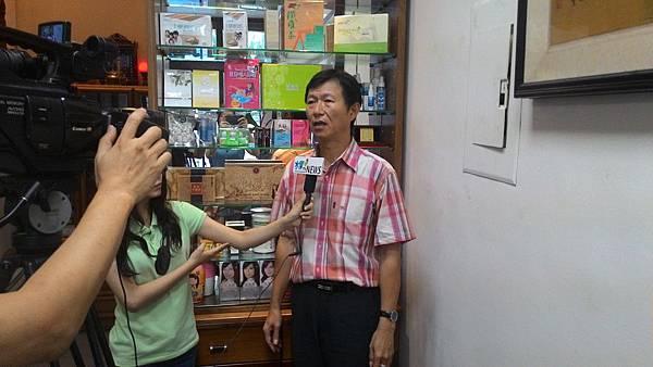 『易特商務網公司』形象廣告片,水果TV電視台專訪拍攝側拍