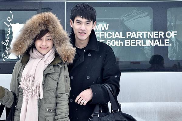 抵達柏林~好冷阿....