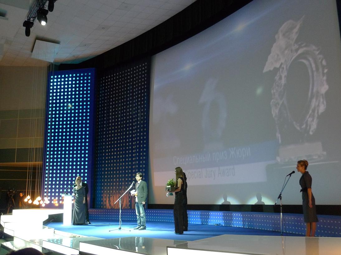 《有一天》海參威影展得獎畫面