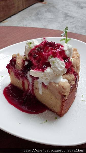 德式覆盆子溫蛋糕