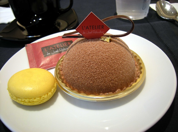 Le Thé au Earl Grey + macaron