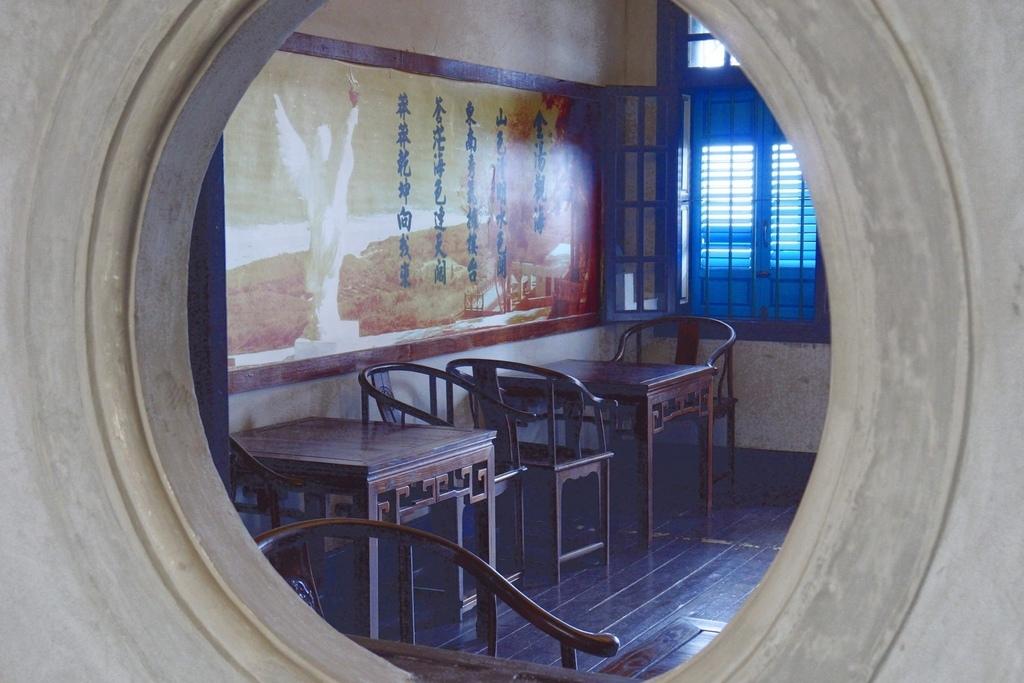 一、二樓都有展覽館,展示著陳景蘭先生的事蹟以及國軍當時遺留的文物